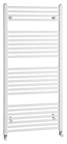 AQUALINE 75 x 132cm 864W rovný kúpeľňový radiátor, biely, ILR37E