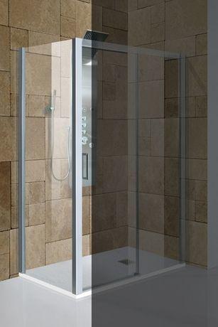 AQUATEK DYNAMIC F1 70cm pevná sprchová stena do kombinácie, profil chróm matný