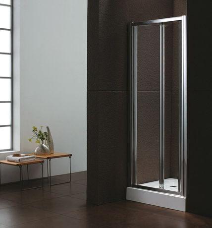 AQUATEK MASTER B6 80cm dvere do niky / sprchový kút rohový, profil chróm