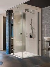 AQUATEK SMART R23 120 x 80cm ľavý sprchový kút obdĺžnikový, profil chróm, sklo číre