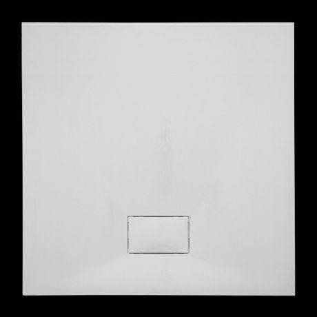 AQUATEK SMC GLOSSY 90cm štvorcová sprchová vanička extra nízka, polymér, SMCGLOSSY90SQ