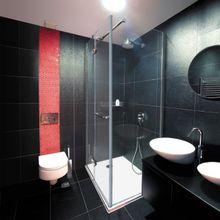 AQUATEK VIP 2000 R13 100 x 80cm sprchový kút obdĺžnikový