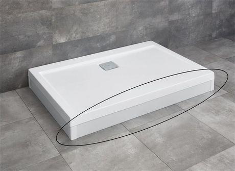 RADAWAY čelný panel 110cm pre vaničky ARGOS D, biely, 001-510104004