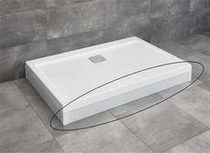 RADAWAY čelný panel 120cm pre vaničky ARGOS D, biely, 001-510114004