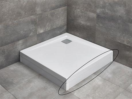 RADAWAY čelný/bočný panel 100cm pre vaničky ARGOS, biely, 001-510094004