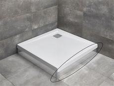 RADAWAY čelný/bočný panel 100cm pre vaničky ARGOS, chróm, 001-510094001