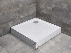 RADAWAY rohový profil k panelom pre vaničky ARGOS, biely, 003-019000304