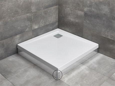 RADAWAY rohový profil k panelom pre vaničky ARGOS, chróm, 003-019000301