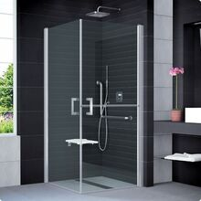 SANSWISS MOBILITY SLM5 90cm pravé sprchové dvere do kombinácie delené v polovici / kút rohový