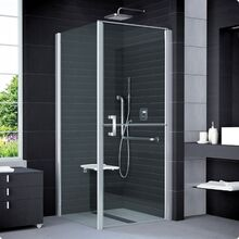 SANSWISS MOBILITY SLM6 100cm pravé sprchové dvere do kombinácie delené v polovici / kút rohový