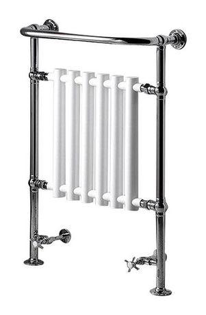 SAPHO CORK 67,3 x 96,5cm 550W vykurovacie teleso, retro, biela/chróm, RE104