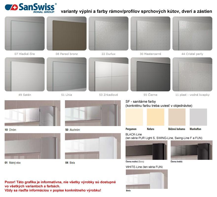 sanswiss top line tow3 170cm av va ov z stena do niky. Black Bedroom Furniture Sets. Home Design Ideas