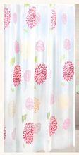 AQUALINE 180 x 200cm záves sprchový plastový, kvety, viacfarebný, ZV015