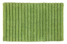 AQUALINE BOMBAY 80 x 50cm bavlnená predložka kúpeľňová protišmyková, zelená, BO508004