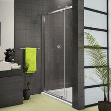 AQUATEK FAMILY B5 100cm sprchové dvere do niky, profil chróm