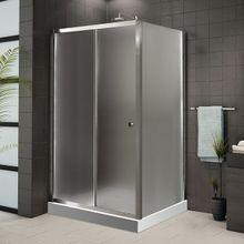 AQUATEK FAMILY R33 120 x 90cm sprchový kút obdĺžnikový, profil chróm