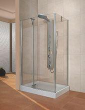 AQUATEK FRESH WAY R13 100 x 80cm ľavý sprchový kút obdĺžnikový