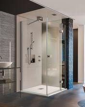 AQUATEK SMART R13 100 x 80cm sprchový kút obdĺžnikový, profil chróm, sklo číre