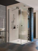 AQUATEK SMART R23 120 x 80cm pravý sprchový kút obdĺžnikový, profil chróm, sklo číre