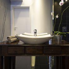 CERAMICA LATINA SWELL 56 x 42cm umývadlo na dosku obdĺžnikové prehnuté, s otvorom pre batériu