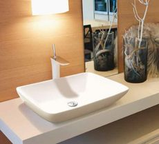 CERAMICA LATINA VOLO 2 59 x 43,5cm umývadlo na dosku zaoblené