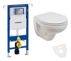 GEBERIT Duofix Špecial akciový set WC závesné s predstenovým inštalačným modulom, splachovaním a sedátkom
