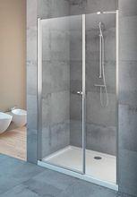 RADAWAY EOS DWS 110cm ľavé dvere do niky, profil chróm, sklo číre, 37991-01-01NL