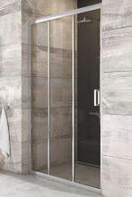 RAVAK BLIX BLDP3 100cm dvere do niky, profil lesk, sklo číre, X00HA0C00Z