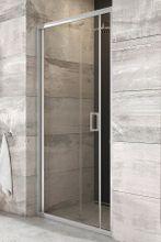 RAVAK BLIX BLDZ2 80cm dvere do niky / sprchový kút rohový, profil lesk, sklo číre, X01H40C00Z