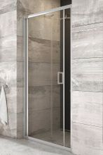 RAVAK BLIX BLDZ2 90cm dvere do niky / sprchový kút rohový, profil lesk, sklo číre, X01H70C00Z