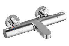 RAVAK TERMO 300 batéria vaňová nástenná termostatická TE 023.00/150, chróm, X070097