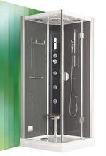 ROLTECHNIK DLS GROHE 90cm pravý hydromasážny parný sprchový box štvorcový, 4G00103