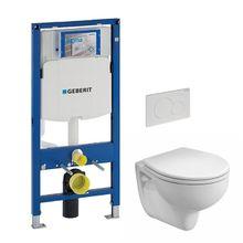VPK akciový set WC závesné s predstenovým inštalačným modulom, splachovaním a sedátkom, WC-SADA-2