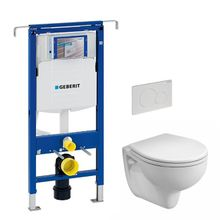 VPK akciový set WC závesné s predstenovým inštalačným modulom, splachovaním a sedátkom, WC-SADA-3