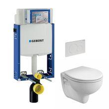 VPK akciový set WC závesné s predstenovým inštalačným modulom, splachovaním a sedátkom, WC-SADA-4