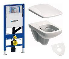 GEBERIT Duofix Duofresh akciový set WC závesné s predstenovým inštalačným modulom, splachovaním a sedátkom
