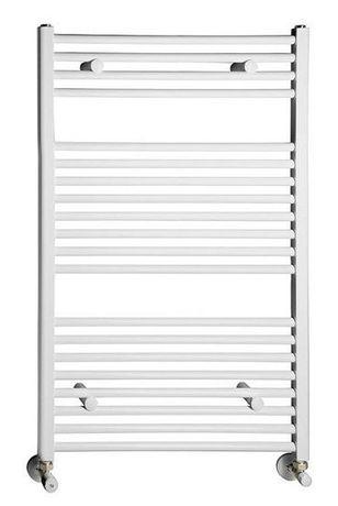 AQUALINE 60 x 97cm 541W rovný kúpeľňový radiátor, biely, ILR96E