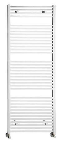 AQUALINE 75 x 187cm 1238W rovný kúpeľňový radiátor, biely, ILR87E