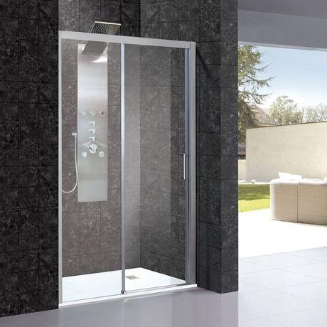 AQUATEK DYNAMIC B2 180cm ľavé dvere do niky / sprchový kút rohový, profil chróm matný