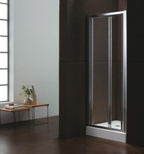 76024cfcdff0e AQUATEK MASTER B6 100cm dvere do niky / sprchový kút rohový, profil chróm