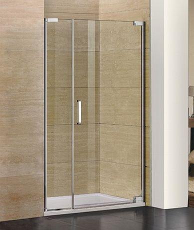 AQUATEK PARTY B7 145cm dvere do niky, profil chróm, sklo číre, PARTYB7CH14562