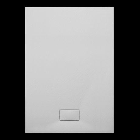 AQUATEK SMC ROCK 140 x 90cm obdĺžniková sprchová vanička extra nízka, polymér, SMCROCK140X90