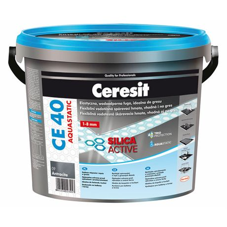 CERESIT CE 40 ice glow 5 kg škárovacia hmota AQUASTATIC 18161