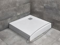 RADAWAY čelný/bočný panel 80cm pre vaničky ARGOS, biely, 001-510074004