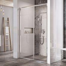 RAVAK BLIX SLIM BLSDP2 120cm dvere do niky / sprchový kút hranatý, chróm, sklo číre, X0PMG0C00Z1