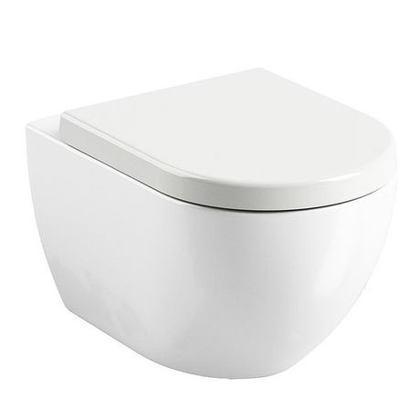 RAVAK UNI CHROME RIM WC závesné, biele, X01516