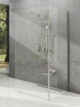 RAVAK WALK-IN CORNER 120 x 90cm bezdverový sprchový kút dvojdielny rohový, sklo číre
