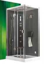 ROLTECHNIK DLS GROHE 115 x 85cm ľavý hydromasážny parný sprchový box obdĺžnikový, 4G00115