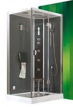 ROLTECHNIK DLS GROHE 115 x 85cm pravý hydromasážny parný sprchový box obdĺžnikový, 4G00104