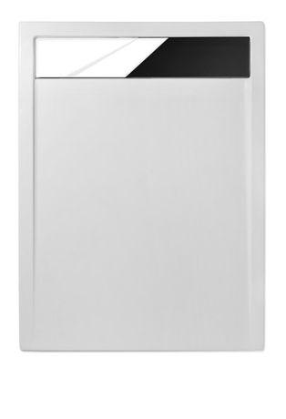 ROLTECHNIK INTEGRO 120 x 90cm sprchová vanička obdĺžniková s nerezovým krytom sifónu, akrylát, 8000169